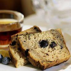 Sour Cream-Blueberry Bread Recipe