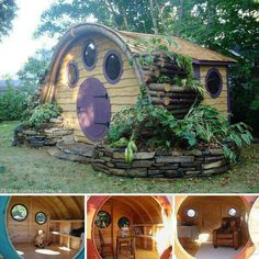 Hobbit play house. This might just be for me, and not for the kids.