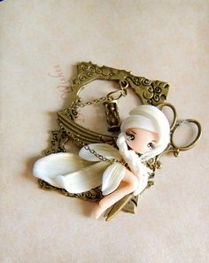 Sewing Fairy Necklace