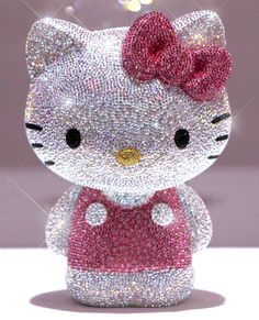 Swarovski Hello Kitty | My daughter would LOVE this!!!