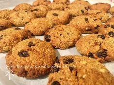 Μπισκότα Βρώμης 💜 Healthy Desserts, Healthy Recipes, Hotel Breakfast, Greek Recipes, Food Inspiration, Cookie Recipes, Sweet Tooth, Food And Drink, Cookies
