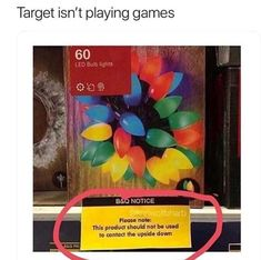 target knows what's DOWN.   humour