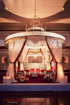 Breathless Indian Wedding Altar at Atlanta History Center