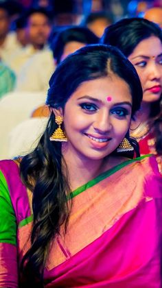 Lakshmi Menon in Silk Saree