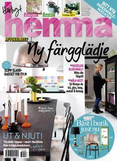 Veckans nummer av Härligt hemma! Nr 14/2013 Nu med ännu mer inredning ocn ny sajt.