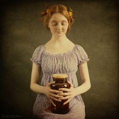 The jar with fireflies ...