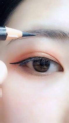 Diy Beauty Makeup, Eyebrow Makeup Tips, Basic Makeup, Skin Makeup, Beauty Hacks, How To Makeup, Best Eyebrows, Eyebrows Step By Step, How To Make Eyebrows