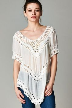 Tibbie Tunic in Soft Ivory