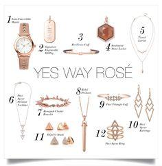Rose Gold is everywhere this Holiday Season #YesWayRose #Rosegold #womensfashion