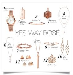 Rose Gold is everywhere this Holiday Season #YesWayRose #Rosegold #womensfashion #jewelry #StellaDotStyle