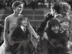 I'll admit, I'm a Harry Potter fan. And this is an amazing moment in time to have captured..