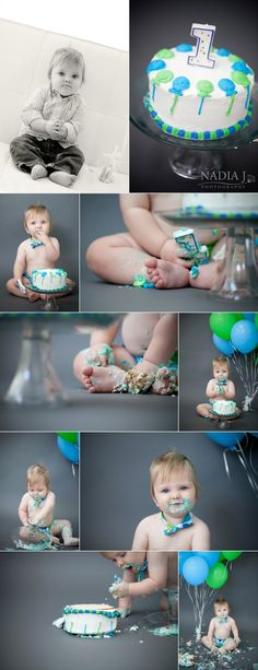 1st B-day pic ideas...love the colors!