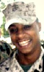 Marine Cpl. Willie P. Celestine Jr., 21, of Lafayette, Louisiana. Died April 26, 2007, serving during Operation Iraqi Freedom. Assigned to 2nd Assault Amphibian Battalion, 2nd Marine Division, II Marine Expeditionary Force, Camp Lejeune, North Carolina. Died of injuries sustained from hostile fire during combat operations in Fallujah, Anbar Province, Iraq.