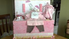 Baby shower gift i made for my neice <3