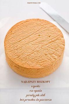 Sweet Recipes, Cake Recipes, Potato Flour, Baking Basics, Classic Cake, Home Baking, Polish Recipes, Cake Flour, Cake Tins