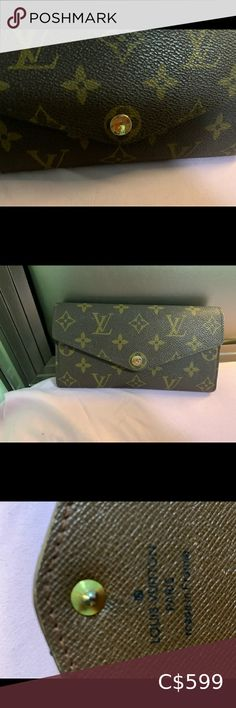 AUTHENTIC Louis Vuitton wallet AUTHENTIC Louis Vuitton sarah wallet in almost perfect condition, wore it a good amount of times. The only signs of wear is some discolouration on the inside, but other than that in perfect condition Louis Vuitton Bags Wallets Louis Vuitton Clemence Wallet, Louis Vuitton Sarah Wallet, Black Louis Vuitton, Louis Vuitton Monogram, Micheal Kors Handbag, Handbags Michael Kors, Lv Key Holder, Key Pouch, Almost Perfect