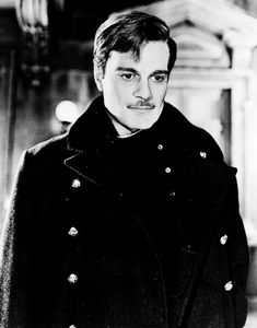 Omar Sharif in Dr. Zhivago. If I were Lara, I'd have never gotten on that stupid train.