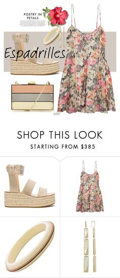 """""""A Summer Staple !!"""" by kateo ❤ liked on Polyvore featuring rag & bone, Elizabeth and James, Zone, Lana Jewelry, Forever Unique, espadrilles and 6729"""