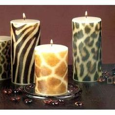 12 Ways to Decorate with Animal Print (Cheetah, Leopard, Giraffe, Snakeskin, etc)