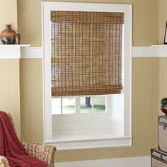 Blinds.com: Basic Woven Wood Shades
