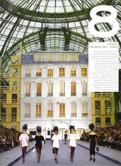 Chanel show in Paris looks so beautiful