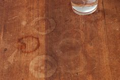 8 ways to remove water stains from wood