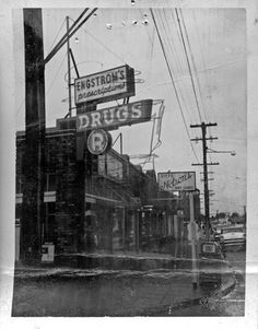 Engstrom's Pharmacy on Beacon Avenue, 1959