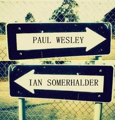 well its a harder decision when it comes to the actors... i know which way i'd go if it were Stefan and Damon haha. I'd probably go Ian and Damon both though. But I do love Paul Wesley!!