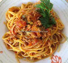 Spagetti Bolonez (Kıymalı Makarna)