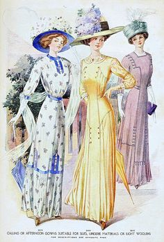 1910 Women's Clothing Dresses | Recent Photos The Commons Getty Collection Galleries World Map App ...