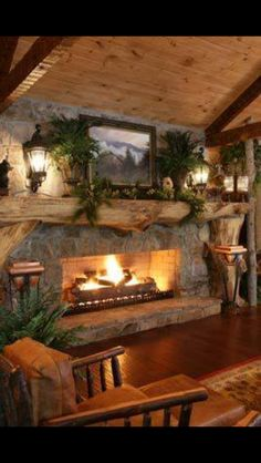 Now THATS a fireplace!!!