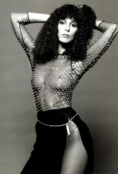 WE ♥ CHER: Cher, 1978 by Photographer Harry Langdon