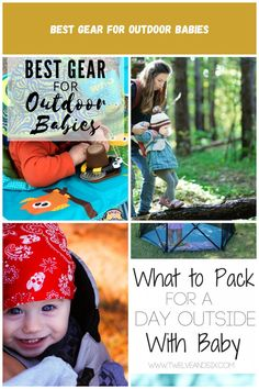 As a mom of five, I have rounded up the best gear for babies for families who love to be outside. It's a list of essentials for Outdoor baby gear Best Gear for Outdoor Babies