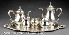 International Silver Company Coffee & Tea Service