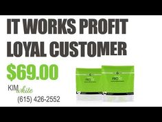High Impact, Natural Great Tasting Protein Shake from It Works ProFIT - YouTube
