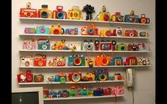 What an amazing toy camera collection from Martha Cooper!