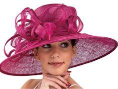 Audrey Wide Brim Sinamay Hat