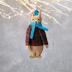 Mimi Kirchner Forest Animal Ornament - Bear #westelm