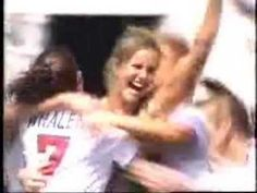 MY GIRLFRIEND BRANDI CHASTAIN SCORED THE WINNING GOAL THAT GAVE THE U.S. WOMEN'S SOCCER TEAM THE WORLD CUP IN 1999,,, Kimmeasmile :)