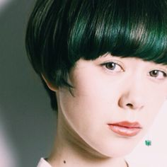 HAIR STYLIST▶Double/Aya Nishikawa #CYAN #CYANMAG #HAIR #HAIRSALON #BOBHAIR #GREENHAIR #グリーンヘアー #ヘアカタログ