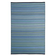 Viana Fiesta Blue Indoor/Outdoor Area Rug