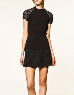 Zara top and skirt - Love them both!