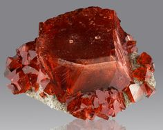 Boussingaultite is a rare sulfate mineral  (I'm pretty sure this rock wants a date with the camera)