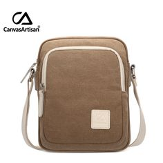 14.95$  Buy now - Canvasartisan top quality women messenger bag canvas solid color simple retro style female daily handbag crossbody shoulder bags  #magazine