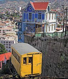 Valparaiso, the seaport city. Chile.