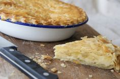 Cheese & Onion Pie - The Pink Whisk