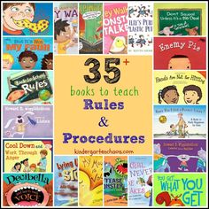 Books to Teach Rules