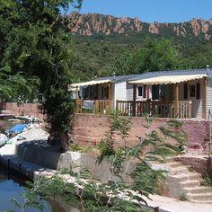 #mobilhome #terrace #amazingview #cotedazur #france #Vacansoleil #campingholidays #instatravel #instacamping
