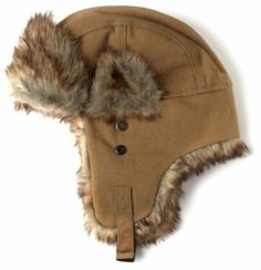 fee2fad7 Dickies Men's Canvas Bomber Hat, Brown, One Size at Amazon Men's Clothing  store: Faux Fur Bomber Hat Men