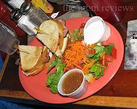 Thanks to The Mom Jen for her glowing review of the Truckee Squeeze! TheMomReviews.com Pictured here is our grilled ham and cheese sandwich.